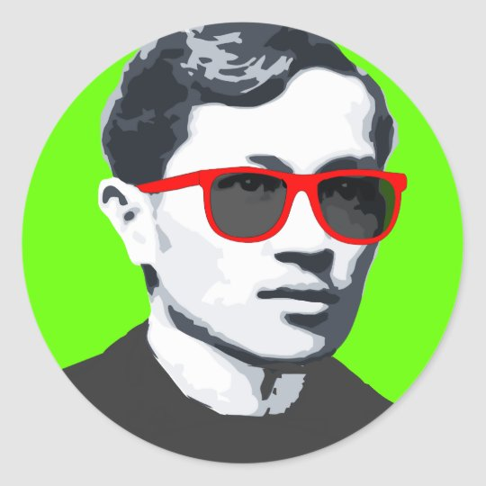 "Jose ""Pepe"" Rizal Sunnies T-shirt Classic Round Sticker"