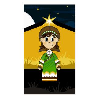José por la señal del granero de la natividad tarjetas de visita