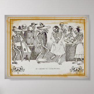 José  Posada, El jarabe en ultratumba 7x5.30 Print