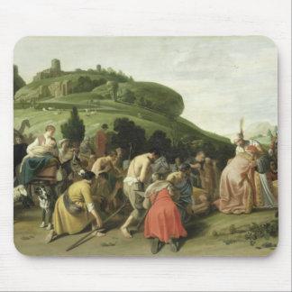 José recibe a su padre en Egipto, 1628 Tapetes De Ratones