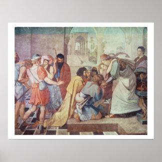 José reconoció por sus hermanos impresiones