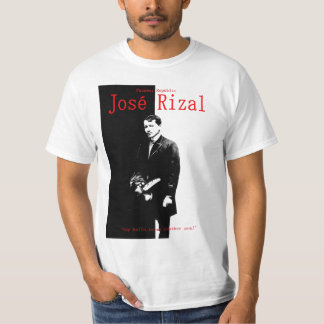 Jose Rizal, héroe nacional filipino Remera