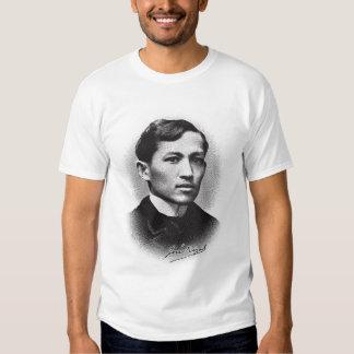 Jose Rizal (impresión negra) Camisas