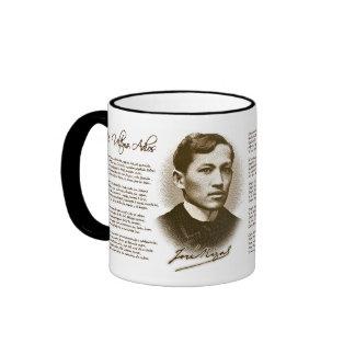 Jose Rizal Mi Ultimo Adios Coffee Mugs