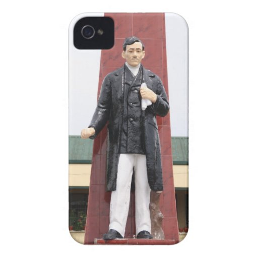 Jose Rizal Monument, Tacloban City Case-Mate iPhone 4 Cases