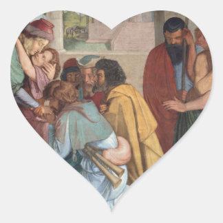 José se revela a sus hermanos - Cornelio Calcomania Corazon