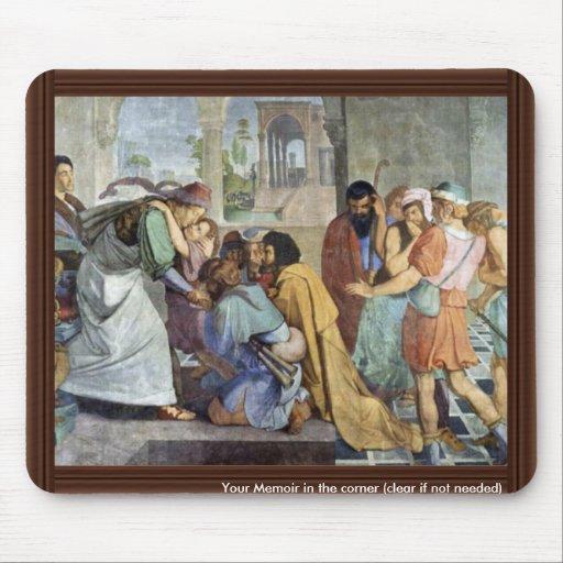 José se revela a sus hermanos por Corneliu Tapetes De Raton