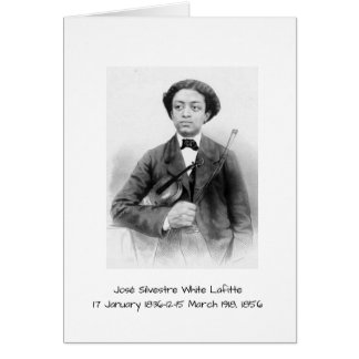 José Silvestre White Lafitte Card