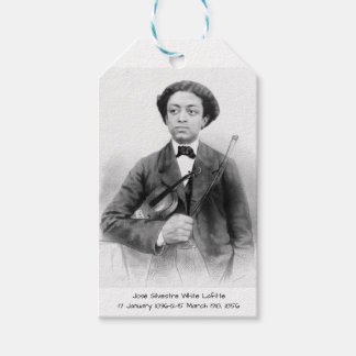 José Silvestre White Lafitte Gift Tags