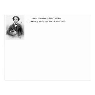 José Silvestre White Lafitte Postcard