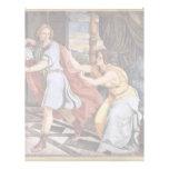 José y la esposa de Potiphar de Veit Philipp Plantilla De Membrete