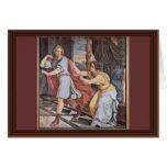 José y la esposa de Potiphar de Veit Philipp Felicitacion
