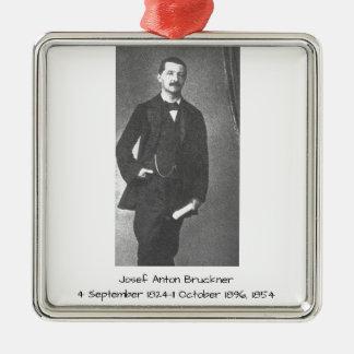 Josef Anton Bruckner 1854 Metal Ornament