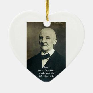 Josef Anton Bruckner Ceramic Ornament