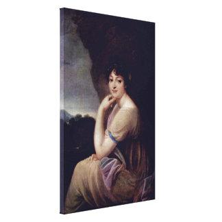 Josef Grassi - Yekaterina Bakunina Stretched Canvas Prints
