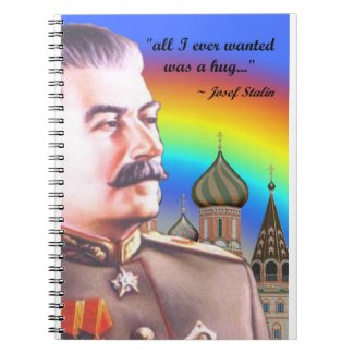 josef stalin's private notebook