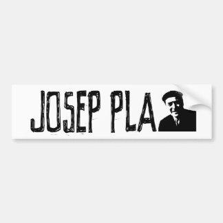 Josep Pla Bumper Sticker