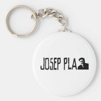Josep Pla Basic Round Button Keychain