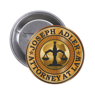 Joseph Adler Attorney at Law mike judge extract 2 Inch Round Button