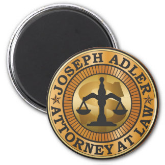 Joseph Adler Attorney at Law mike judge extract 2 Inch Round Magnet
