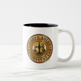Joseph Adler Attorney at Law mike judge extract Two-Tone Coffee Mug
