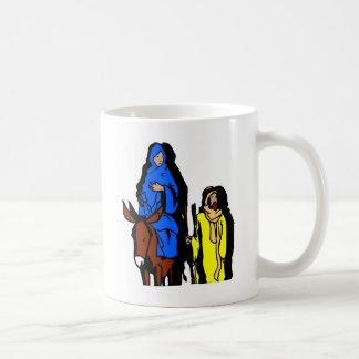 Joseph and Mary Christian artwork Coffee Mug