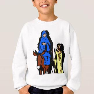 Joseph and Mary Christian artwork Sweatshirt