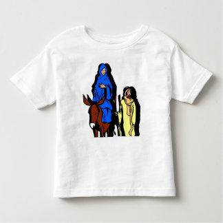 Joseph and Mary Christian artwork Toddler T-shirt