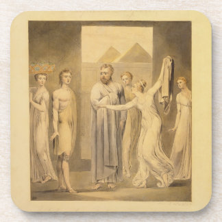 Joseph and Potiphar's Wife, 1803-05 (pen & ink and Coaster