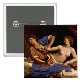 Joseph and the Wife of Potiphar, c.1649 Button