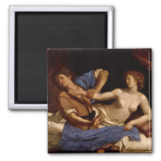 Joseph and the Wife of Potiphar, c.1649 Magnet
