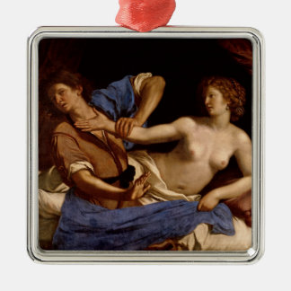 Joseph and the Wife of Potiphar, c.1649 Metal Ornament