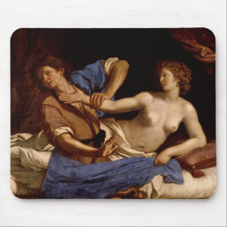 Joseph and the Wife of Potiphar, c.1649 Mouse Pad