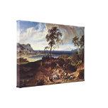 Joseph Anton Koch - landscape after a storm Stretched Canvas Prints