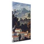 Joseph Anton Koch - Monastery of San Francesco Canvas Print