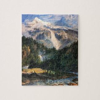 Joseph Anton Koch - Schmadribach Wasserfall, 1822 Jigsaw Puzzle