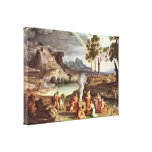 Joseph Anton Koch - The peace offerings of Noah Stretched Canvas Prints
