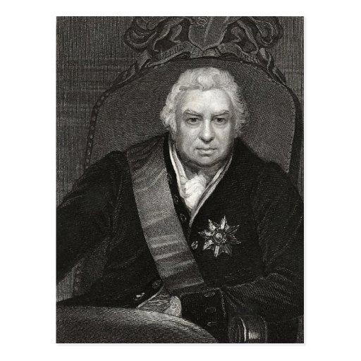 Joseph Banks Postcard