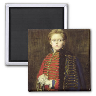 Joseph Bara  as a Young Man 2 Inch Square Magnet