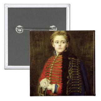 Joseph Bara  as a Young Man Pinback Button