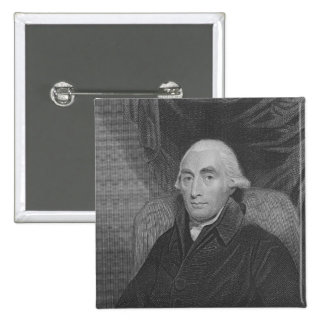 Joseph Black  from 'Gallery of Portraits' 2 Inch Square Button