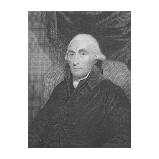 Joseph Black  from 'Gallery of Portraits' Canvas Print