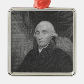 Joseph Black  from 'Gallery of Portraits' Metal Ornament