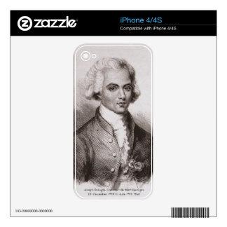 Joseph Bologne, Chevalier de Saint-Georges Decals For iPhone 4S