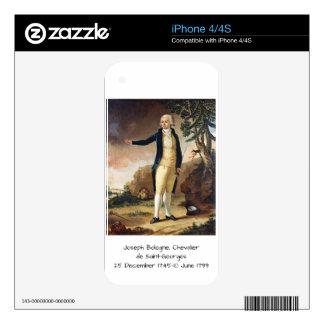 Joseph Bologne, Chevalier de Saint-Georges Decals For The iPhone 4S