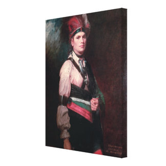 Joseph Brant, Chief of the Mohawks, 1742-1807 Stretched Canvas Prints