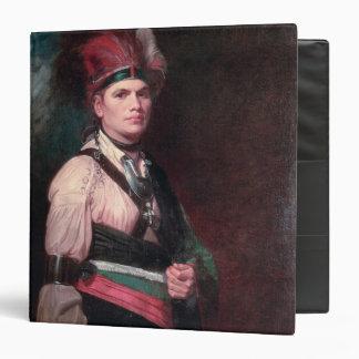 "Joseph Brant, jefe de los Mohawks, 1742-1807 Carpeta 1 1/2"""