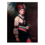 Joseph Brant, jefe de los Mohawks, 1742-1807 Postal