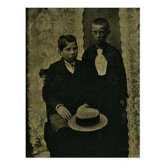 Joseph & Charlie ZARFOS of Windsor, Pennsylvania Postcard