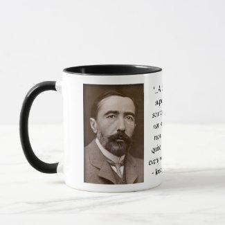 Joseph Conrad on Wickedness (with Photo) in 1904 Mug